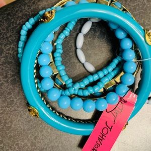 Betsey Johnson bangle bracelet